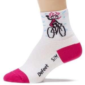 DeFeet Womens Aerator Herculisa Bike Sock Sports