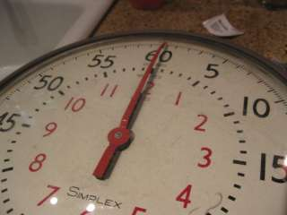 1969 SIMPLEX MILITARY CHRONO STYLE STOP WATCH CLOCK