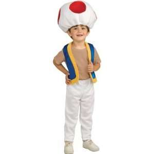 Costumes 185907 Super Mario Bros.  Toad Child Costume