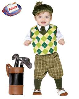 Future GOLFER golf Infant Toddler COSTUME Size 18 24