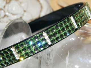 Plastic lucite crystal BRIDAL PAGEANT WEDDING HEADBAND