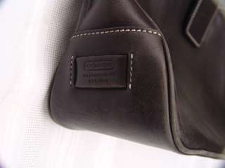 COACH Medium Large Black Leather Hamptons Hobo Tote Purse Shoulder Bag