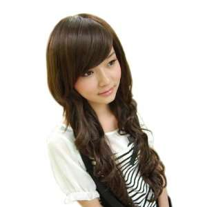 New Women Long Fashion Full Curly Hair Wig 3 Colors