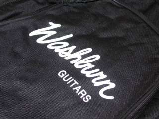WASHBURN HD Padded Electric Guitar Gig Bag w/ Pockets