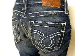 Premium Womens Big Star Jeans Vintage LIV Cropped Capri   QUEEN