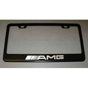 ... Mercedes Benz AMG Black License Plate Frame: Everything ...