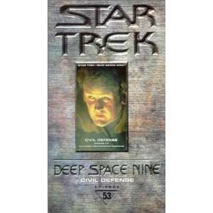 Star Trek   Deep Space Nine, Episode 53 Civil Defense [VHS] Star