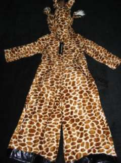 AUTHENTIC KIDS BOYS GIRLS HALLOWEEN COSTUME GIRAFFE 3T