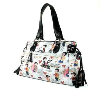 New Fashion Women Betty Boop Handbag Purse MP 01