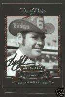 Buddy Baker signed Press Pass Legends Trading Card