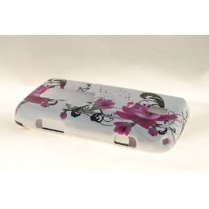 Huawei Ascend M860 Hard Case Cover for Purple Lily