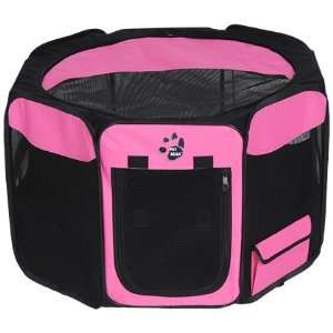 Indoor Soft sided Pet Pen Pink 36