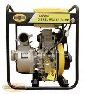 Industrial / Commercial Diesel Water Pump Electric / Recoil Start