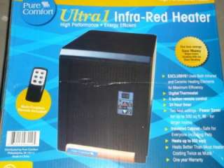 High Performance 1500W Energy Efficient Infrared Heater NEW