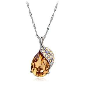 Perfect Gift   High Quality Graceful Harvest Fruit Pendant with Silver