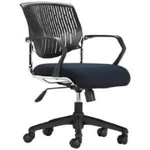 Black Office Chair With Logo Cover UNITED STATES AIR FORCE
