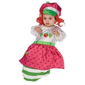 Strawberry Shortcake Baby Bunting Costume: Toys & Games