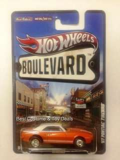 PONTIAC FIREBIRD 2012 Hot Wheels Boulevard F Case Mattel W4633