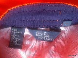 polo ralph lauren swim trunks size m color orange new with tags return
