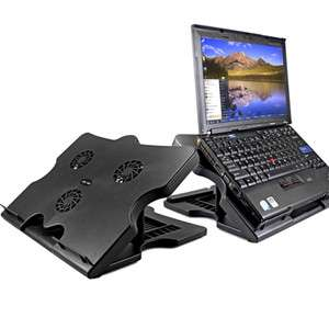 15 Adjustable Notebook Laptop Cooling Cooler Pad Stand With 3 Fan 4