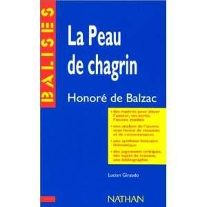 Balzac La Peau De Chagrin (French Edition) (9782091807225) Books