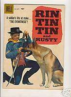 RIN TIN TIN AND RUSTY #26 DELL COMICS GOLDEN AGE FINE