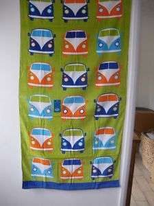 VW CAMPER VAN BEACH TOWEL 5012601873766