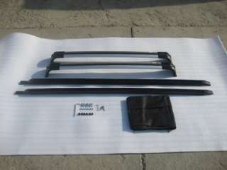 Land Rover Discovery 4 LR4 OEM Factory Style Black Roof Rack Rails