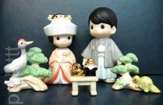 Precious Moments Extremely Rare Japanese Exclusive 5 PC Set