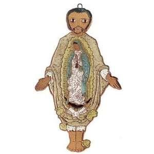 St. Juan Diego de Guadalupe Ceramic Plaque