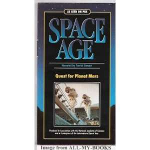 Quest for Planet Mars [VHS] Patrick Stewart Movies & TV
