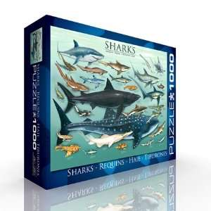 Sharks Jigsaw Puzzle 1000pc Toys & Games