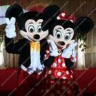 Mickey&Minnie Mouse mascot costumes for birthday party dress supply