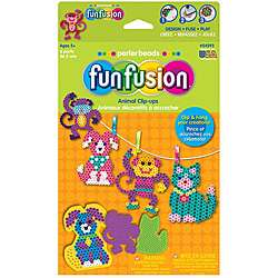 Perler Beads Fun Fusion Animal Clip ups Activity Kit