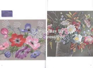 Embroidery 134 Japanese Floral Needlework Table Cloth Pattern Book