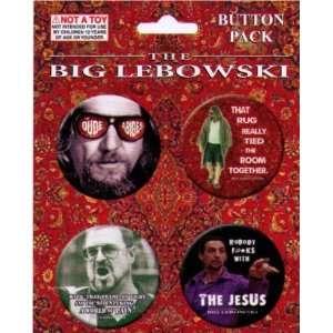 The Big Lebowski Button Set BRB51 Toys & Games