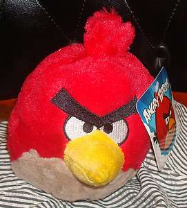 COOL Angry Birds 5 Plush Red Bird Doll