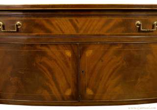 Antique Federal Styled Flamed Mahogany American Made Sideboard Buffet