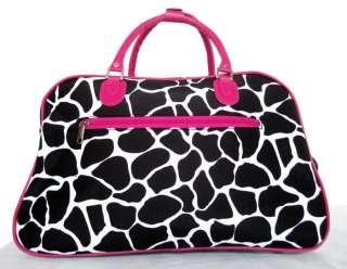 20 Duffel/Tote Bag Rolling Luggage/Wheels Travel Pink