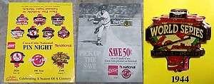 Vintage 1992 Coca Cola ~ St Louis Cardinals 1944 World Series Pin