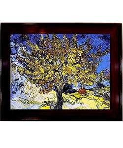Van Gogh Mulberry Tree Framed Canvas Art