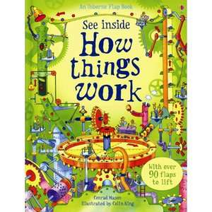 See Inside How Things Work, Mason, Conrad Childrens