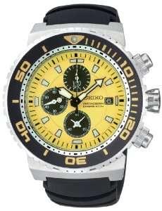 Seiko Mens SNDA61 Chronograph Dive Watch Watches