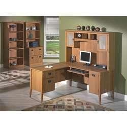Bush Furniture Mission Pointe 60 inch Desk Bundle