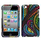 for ipod touch 4 hard case cover sparkle jamaican fabric