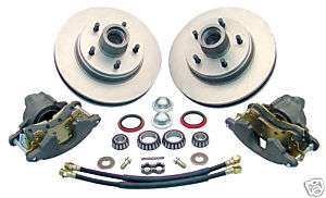 1960 72 CHEVY TRUCK 6 LUG DISC BRAKE COMPONENT KIT