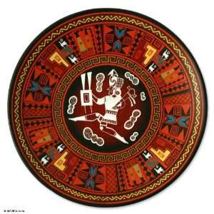 Cuzco plate, Inca Warrior Home & Kitchen