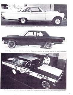 Vintage NHRA IHRA AHRA Drag Racing Dodge Coronet AFX Funny Car Hemi
