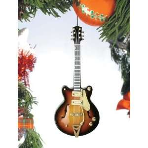 Electric Guitar Brown/Tan by Broadway Gifts Home & Kitchen