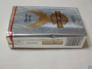HARLEY DAVIDSON Soft Pack Cigarettes RARE Vintage Collectible Never
